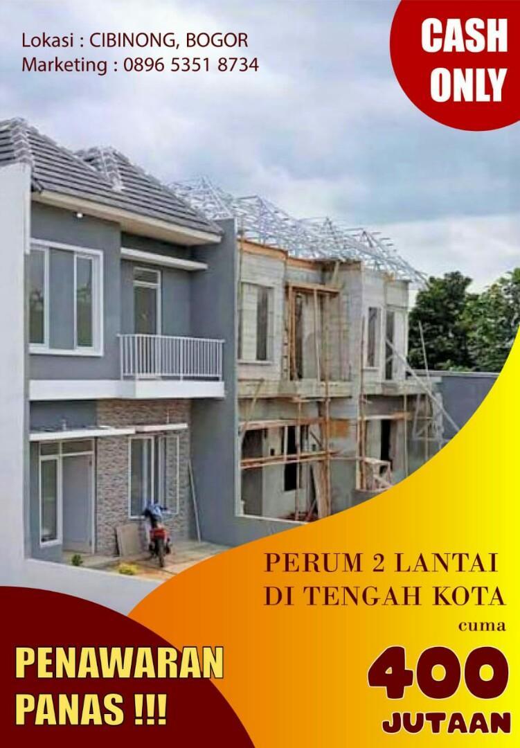 Exclusive!!!  Hunian 2Lt Termurah Di Bogor
