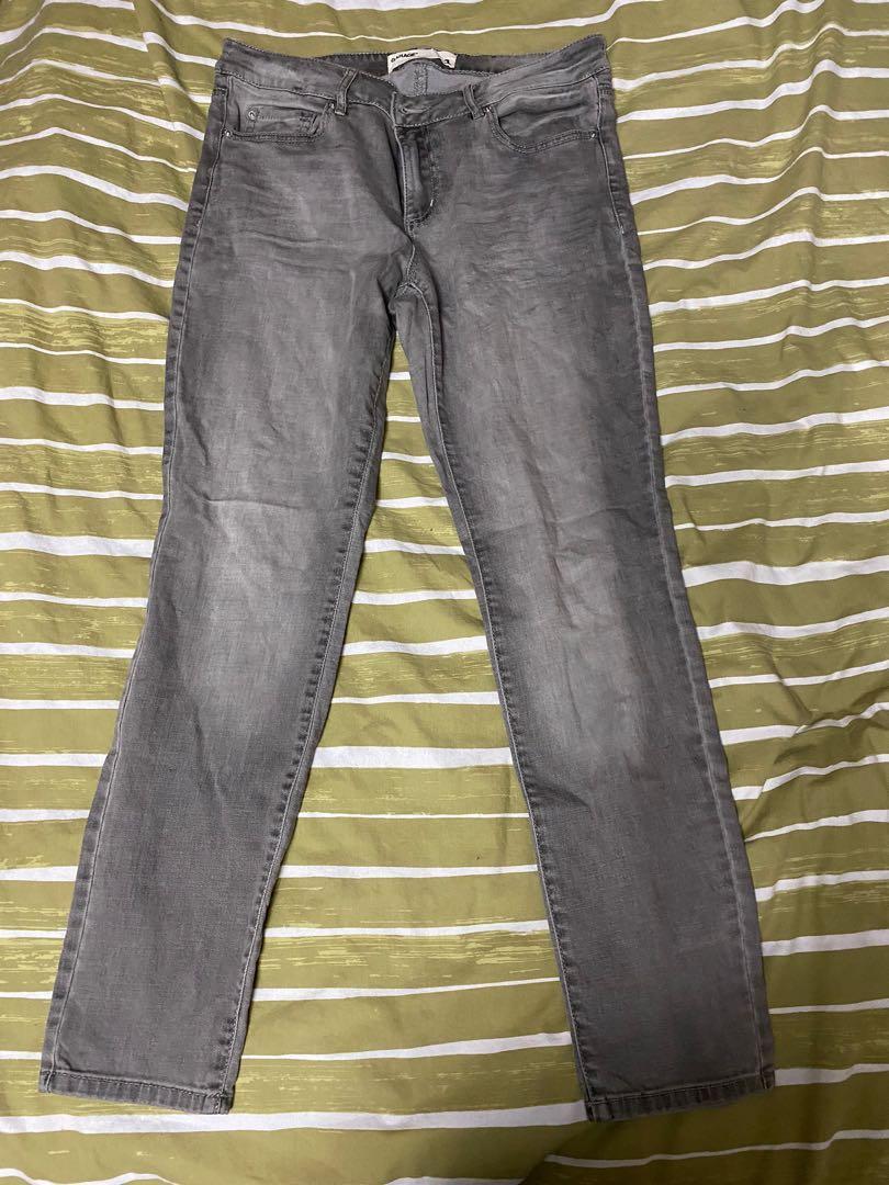 Grey Garage Jeans