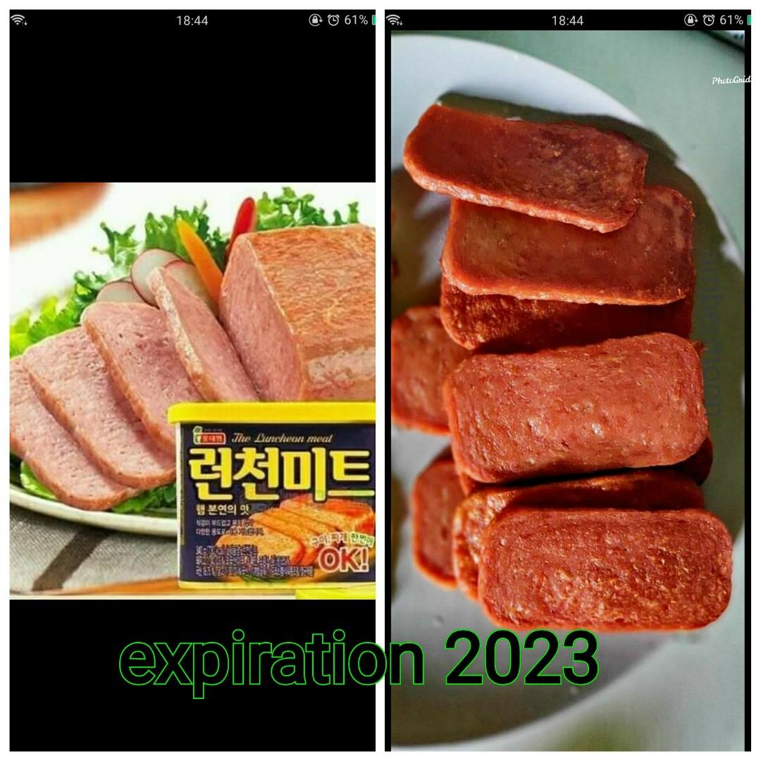 Korean luncheon meat