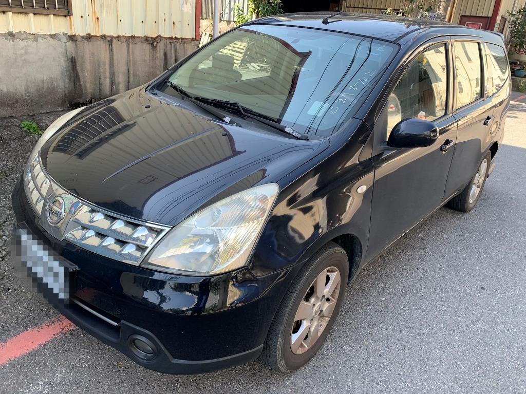 2011年 Nissan G-Livina 黑 實車在店 歡迎賞車
