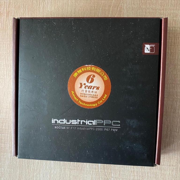 全新Noctua NF-F12 Industrial PPC-2000 IP67 PWM 從香港寄到台灣國