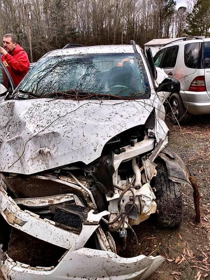 Please help fund the accident recovery