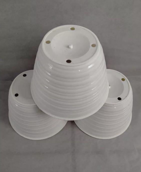 pot tawon putih 12pcs