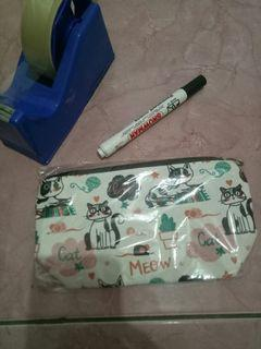 Pouch (pencil / make up /uang & hp) #salefeb