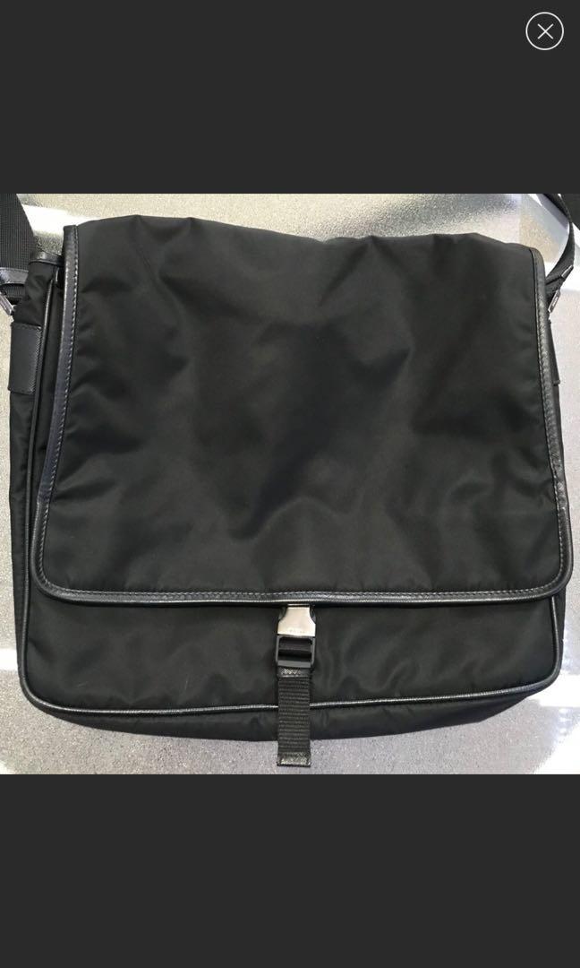 PRADA MESSENGER SIDE BAG