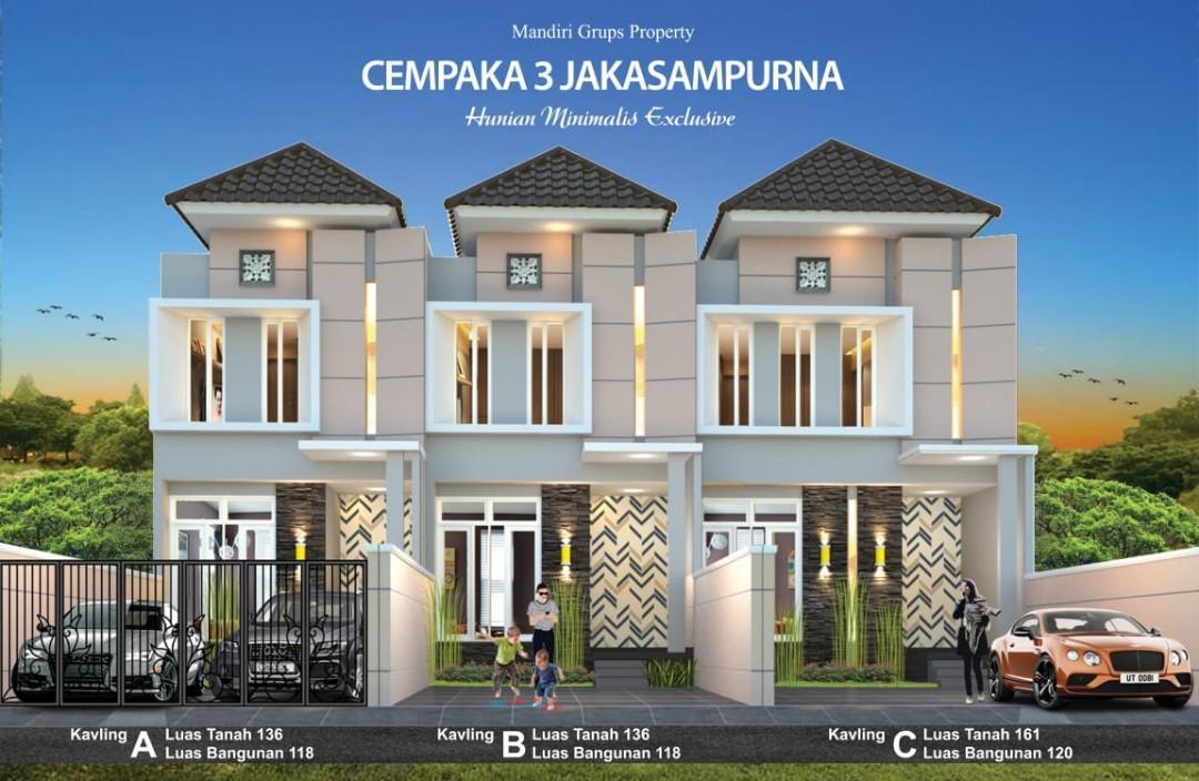Rumah 2 Lantai Moeslem