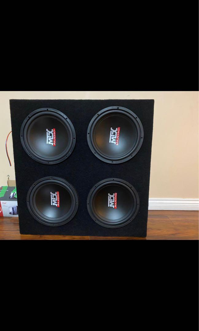 Subwoofer 12 in amp 650watts