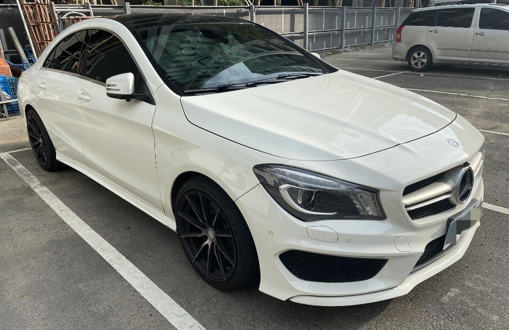 <証>2015 CLA250 白色