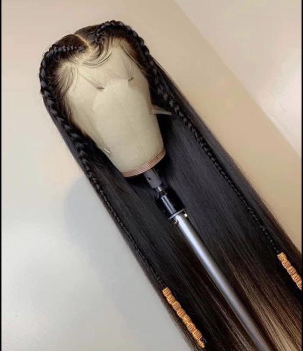 32 inches  Straight human hair