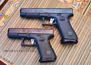 Adjustable flat trigger