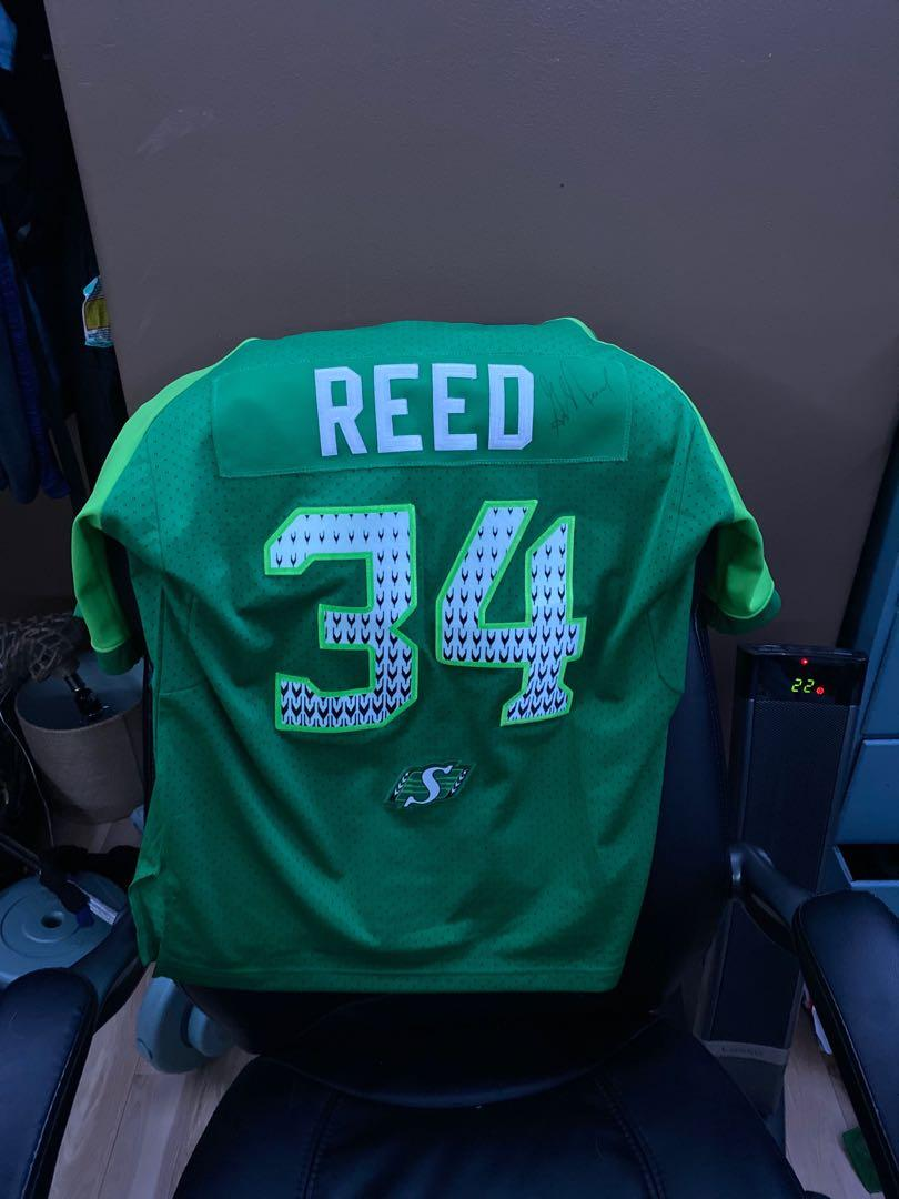 Autographed George Reed riders jersey