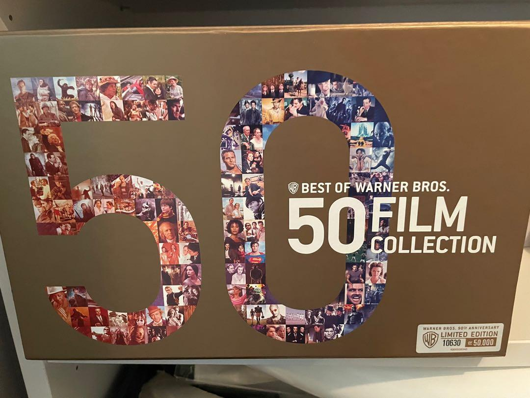 Best of Warner 50 film collection