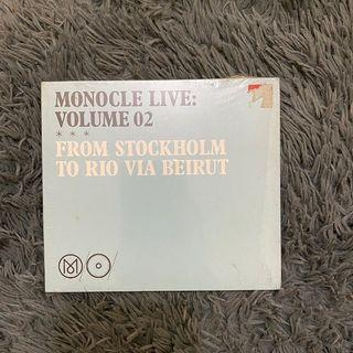 CD  Various – Monocle Live: Volume 2 from Stockholm to Rio via Beirut