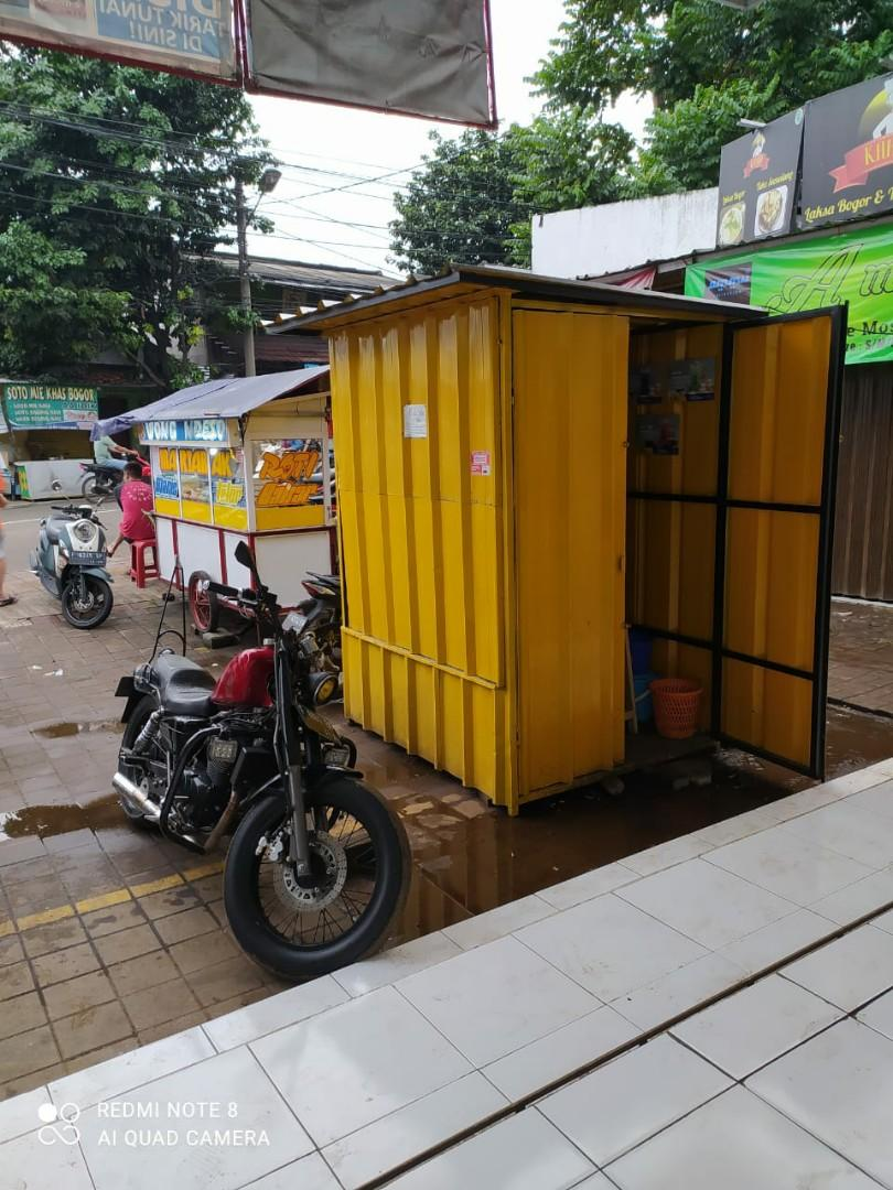 Container Booth Jualan