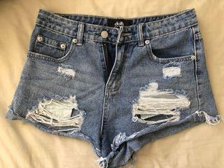 Dotti denim shorts