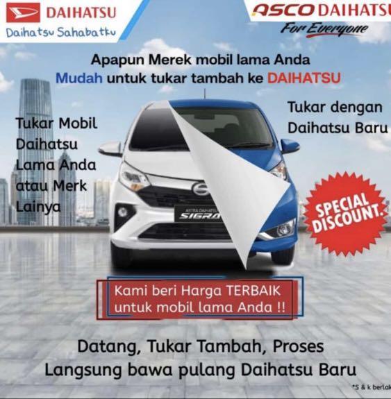 DP RINGAN Daihatsu Sigra mulai 16 jutaan. Daihatsu Fatmawati