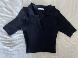 ForYouTheLabel NEW Black Dress Hitam Stretch Korean Fashion