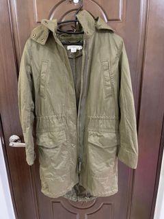 H&M軍裝外套#排行榜
