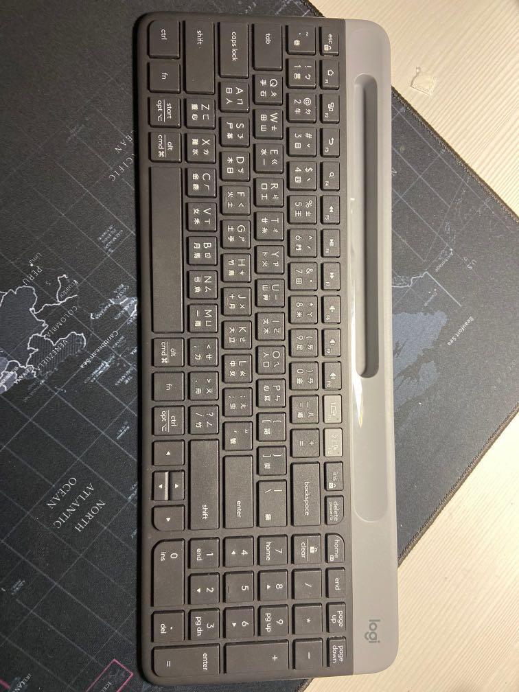 K580鍵盤 極新無盒子 無限 藍芽 2.4ghz