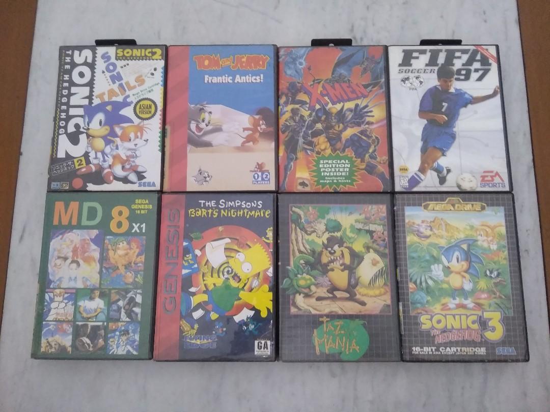 Kaset Sega Megadrive