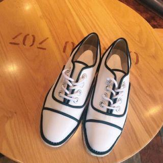 Kelly同款 Cunz 歐美連線皮質鞋 #年終