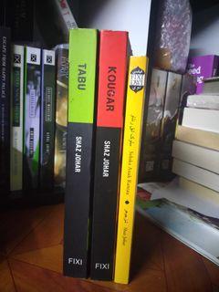 Kombo novel FIXI Shaz Johar