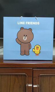 Line friends 正版授權雙層雲毯.毛毯.毯子.棉被.被子.熊大