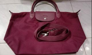 Longchamp with long strap