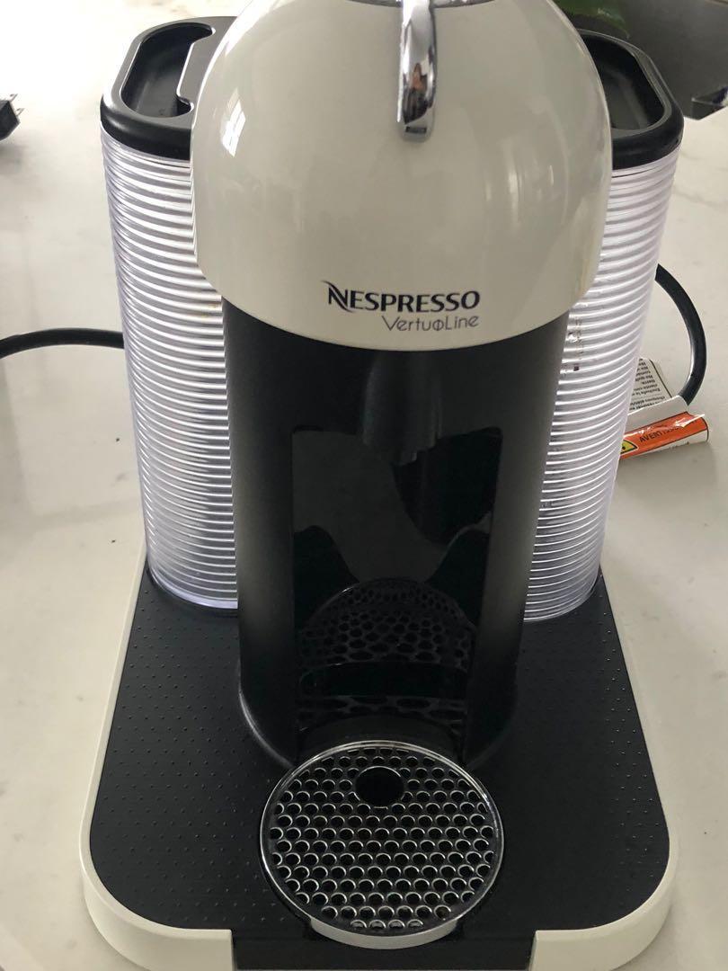 Nespresso virtuoline coffee machine.
