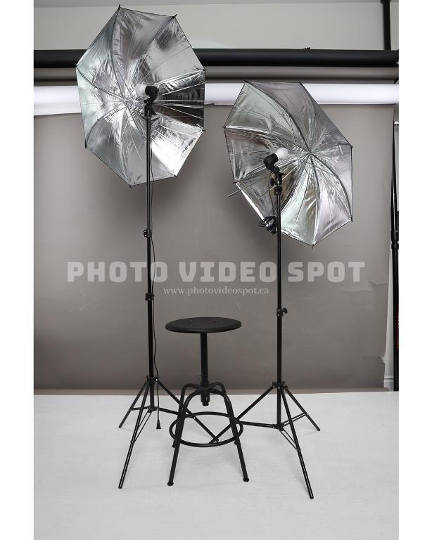 Photo Video Continuous Umbrella Lighting Starter Kit ⎢ BRAND NEW!!