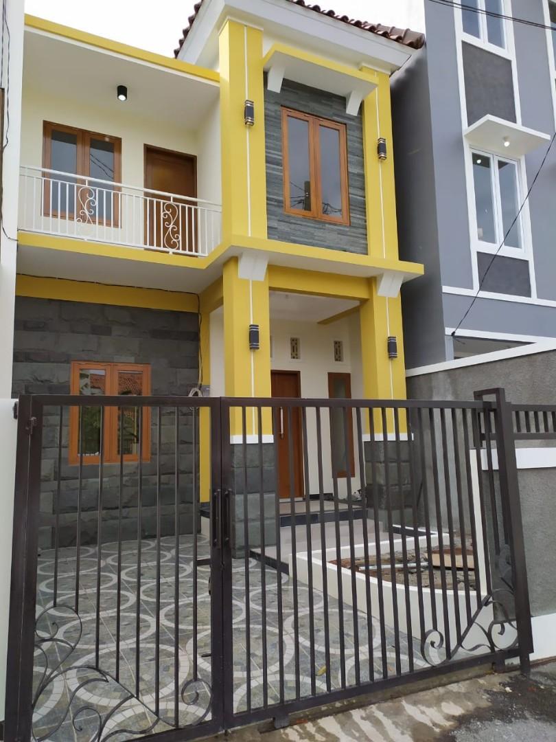Rumah Baru Akses Jalan 8 Meter 100 meter ke Jl Raya Jatiasih Bekasi