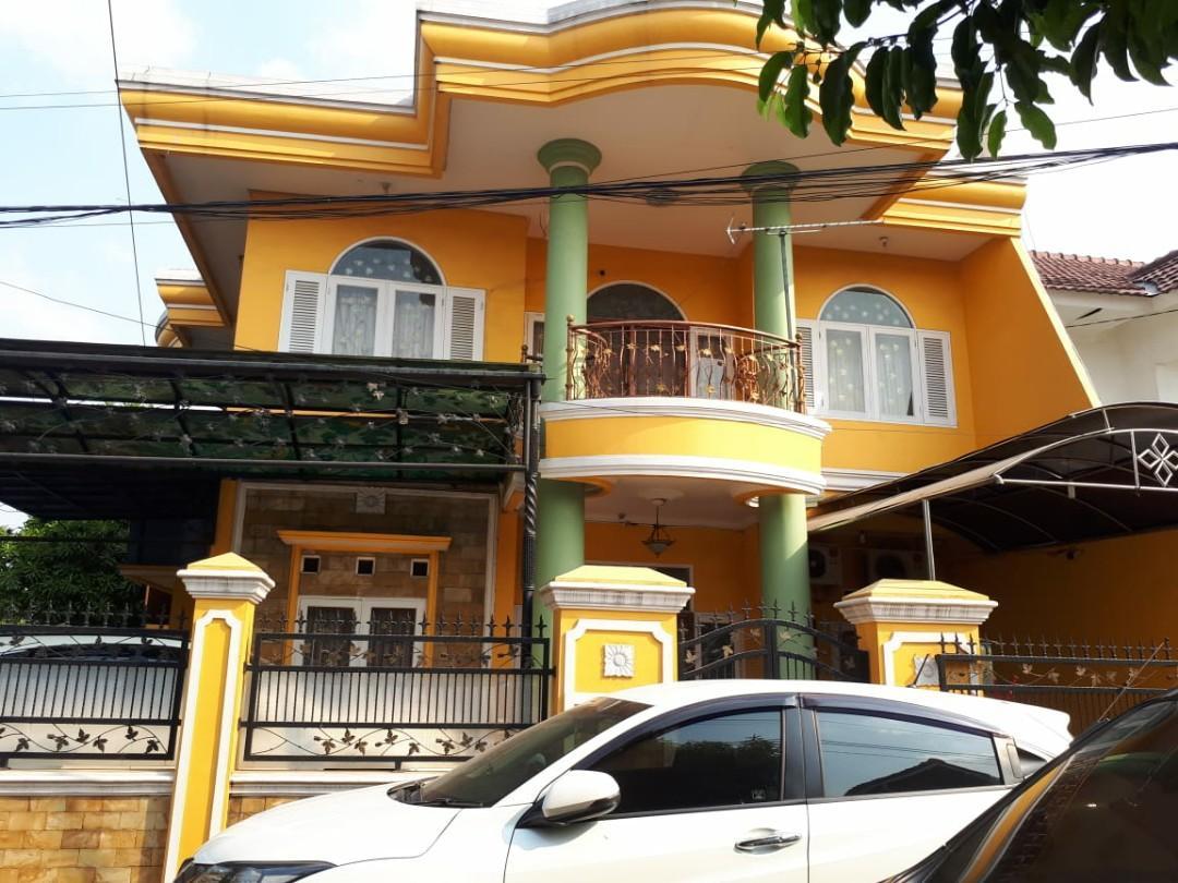 Rumah Second Siap Huni Posisi Hoek di Taman Galaxy Jakasetia Bekasi