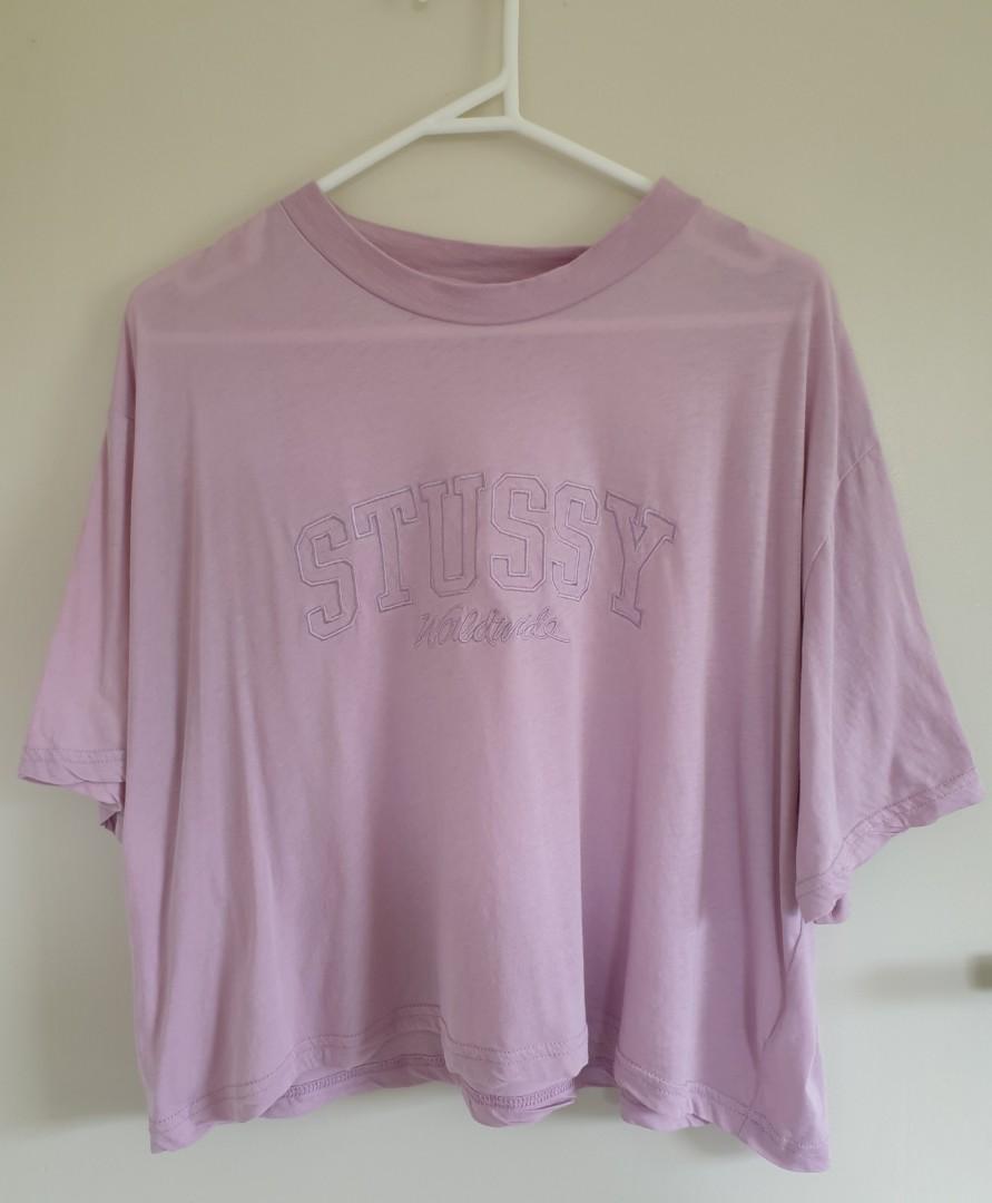 Stussy purple top