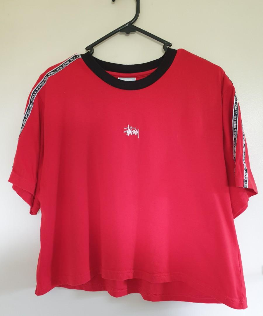 Stussy red top