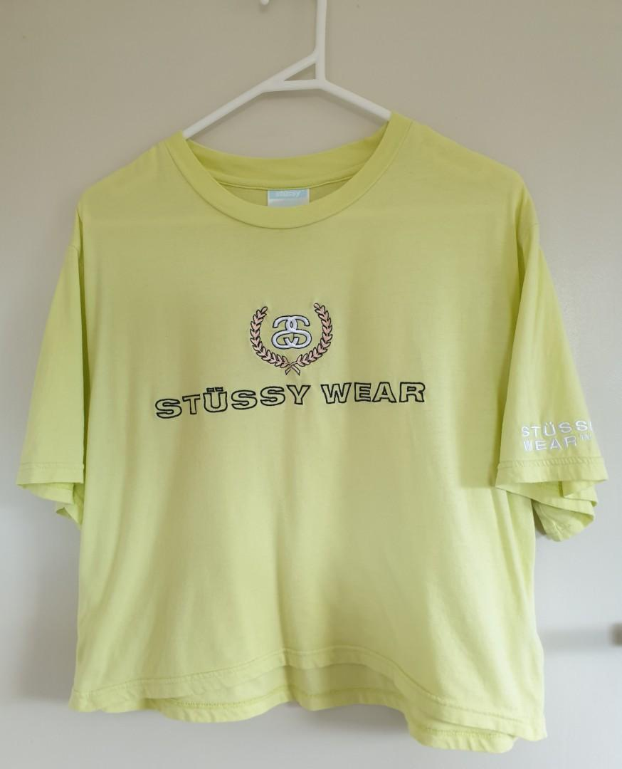 Stussy yellow top