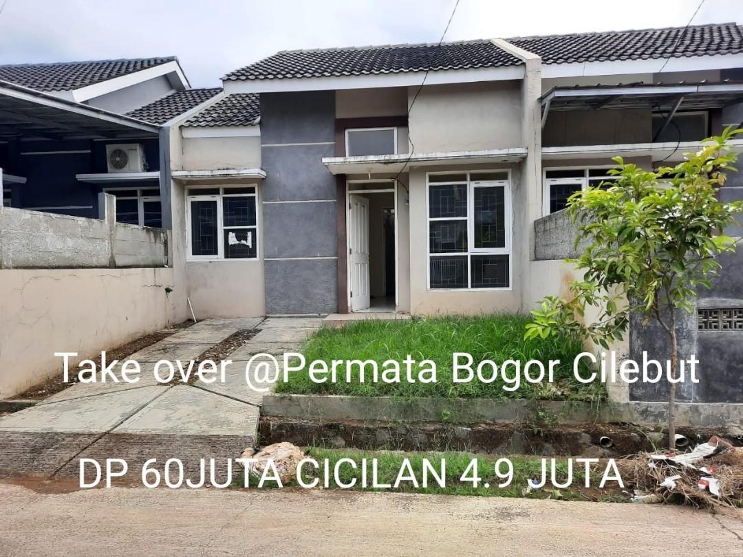 Take over Rumah Cluster di Permata Cilebut