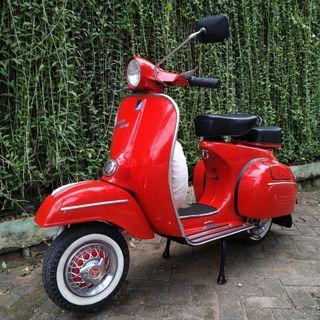 vespa super 1966 original red