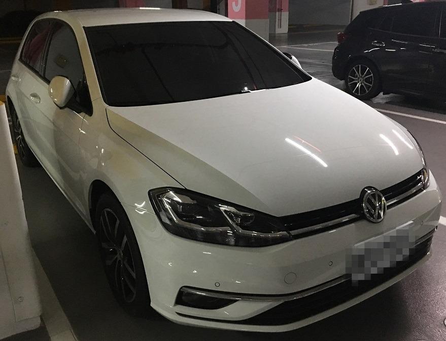 2019 1月 VW GOLF 白