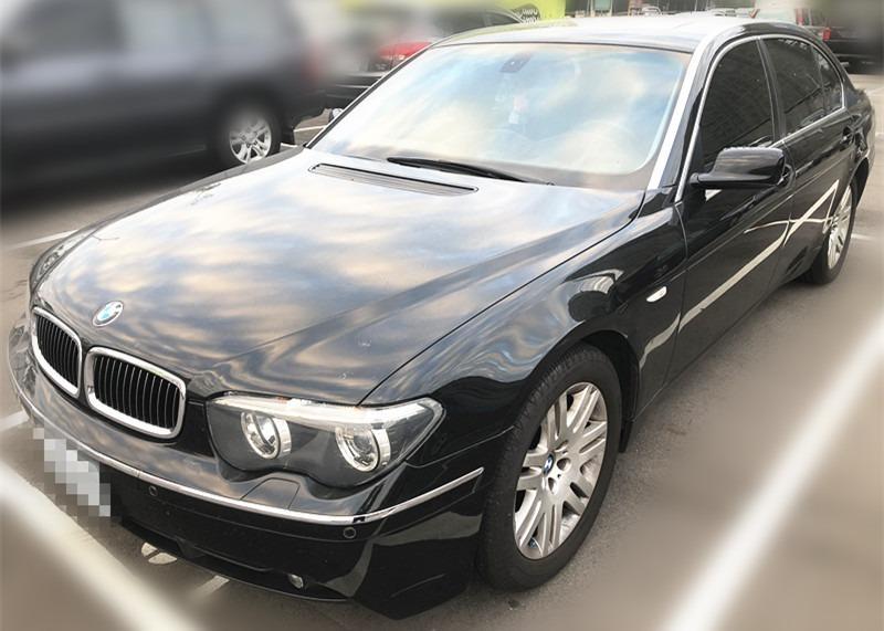 售 2004年 BMW 745 黑 車體美 車況佳