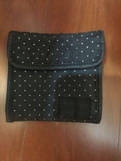 日本 吉田 Head porter dot black beauty 黑美 黑標 短夾
