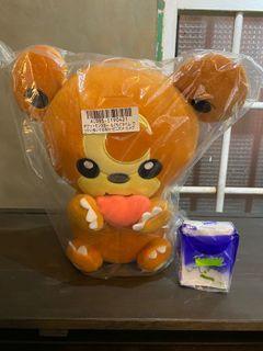 全新 日版 Pokémon 寶可夢 景品 熊