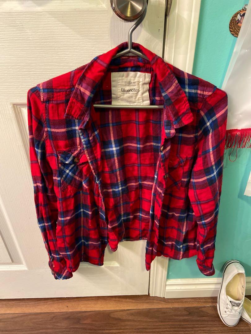 Bluenotes flannel