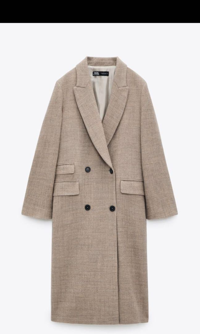 BNWT ZARA Wool coat XS