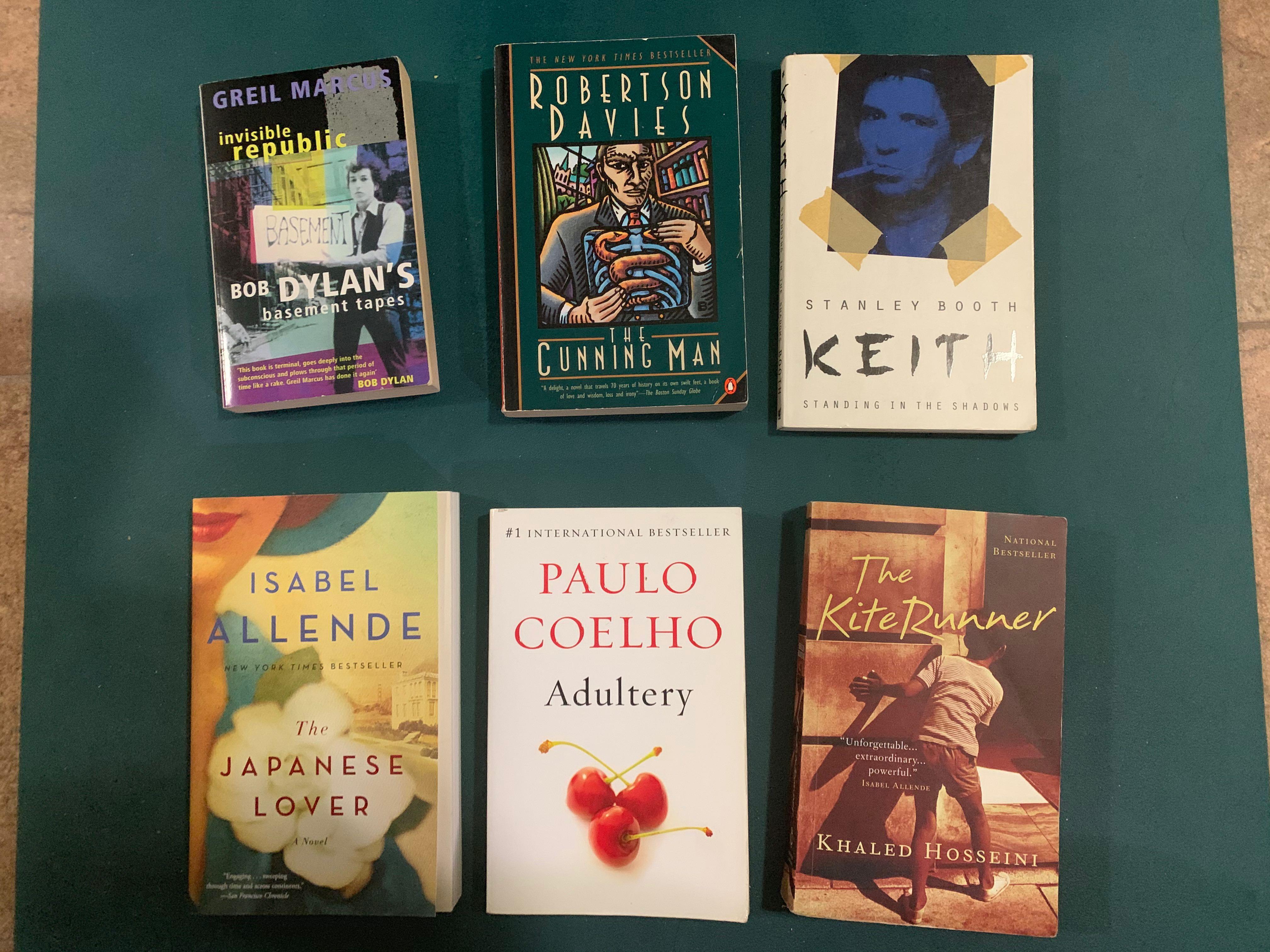 Books 5$ each