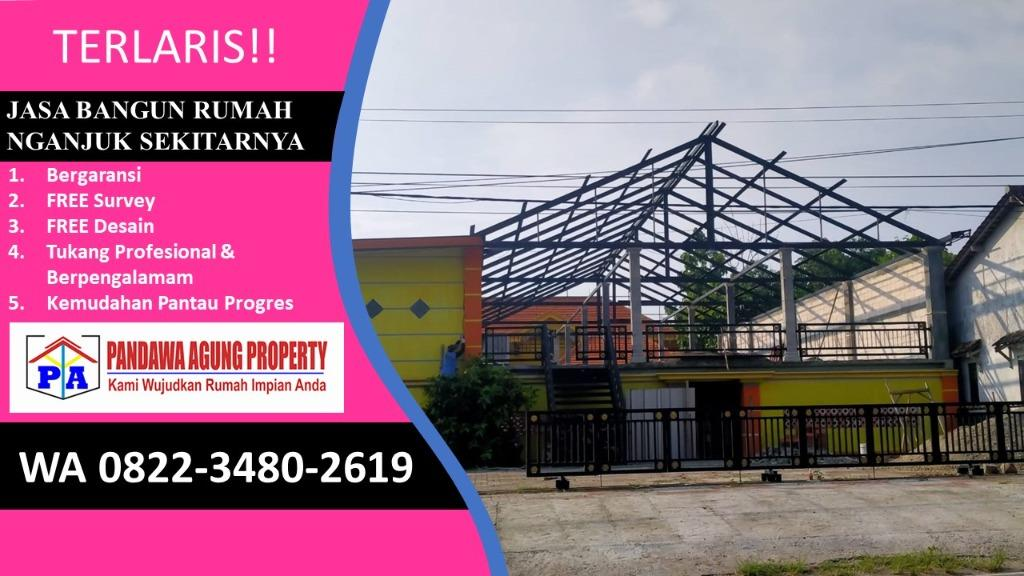 FREE DESAIN | 0812-1710-4370 | Jasa Bangun Rumah Type 45 di Nganjuk, PANDAWA AGUNG PROPERTY