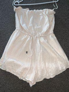Glassons strapless play suit