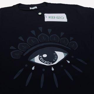 CLEARANCE Kenzo 21SS Eye Print Black Tee