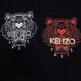 CLEARANCE Kenzo 21SS Tiger Motif Print Tee