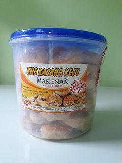 Kue Kacang Keju Mak Enak