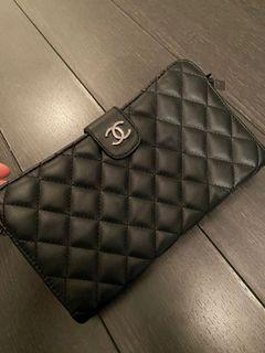 Price dropped *Leather black wallet bag